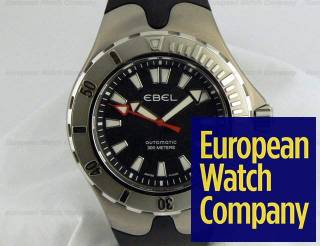 Ebel Sportwave Aquatica SS/Rubber Strap Ref. A120K62/15430606