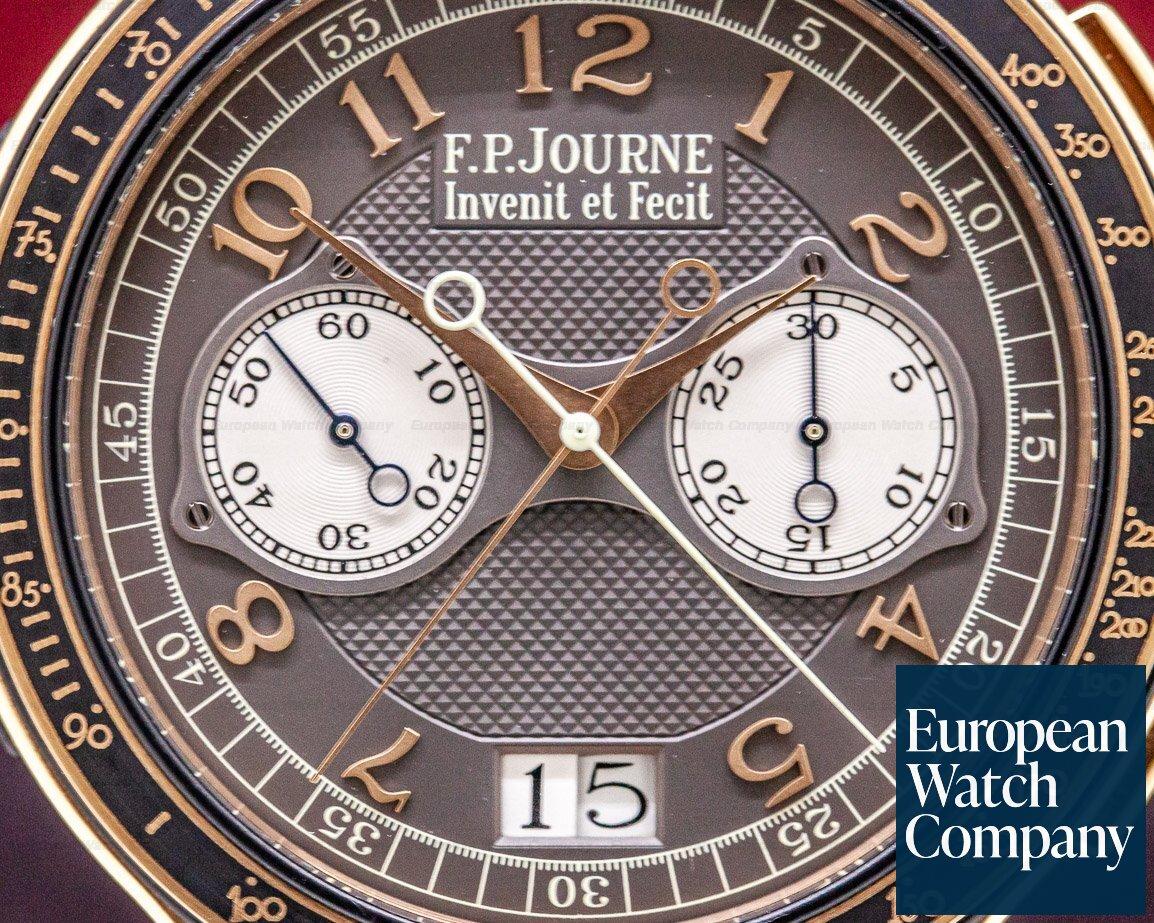 F. P. Journe Chronographe Monopoussoi Chronographe Monopoussoir Rattrapante 18k Rose Gold