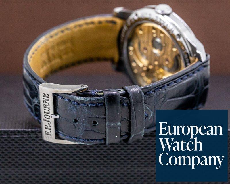 F. P. Journe Chronometer Blue Chronometre Bleu Tantalum Blue Dial