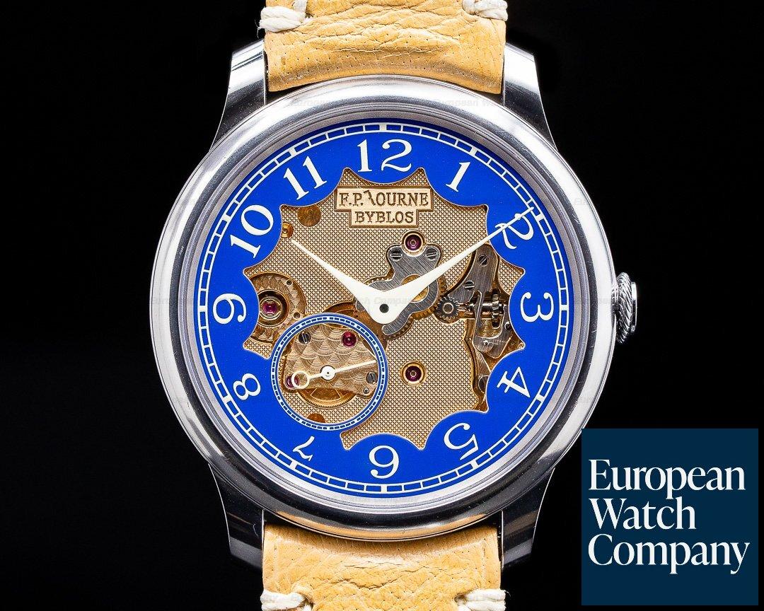 F. P. Journe Chronometre Bleu Byblos Chronometre Bleu BYBLOS Limited Edition RARE UNWORN