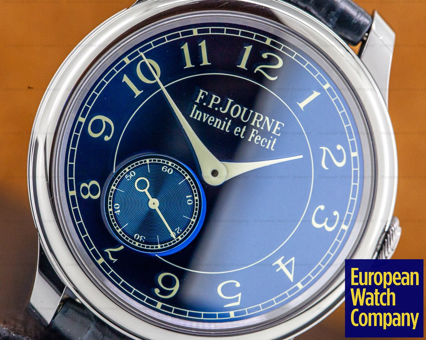 F. P. Journe Chronometre Bleu Chronometre Bleu Tantalum Blue Dial
