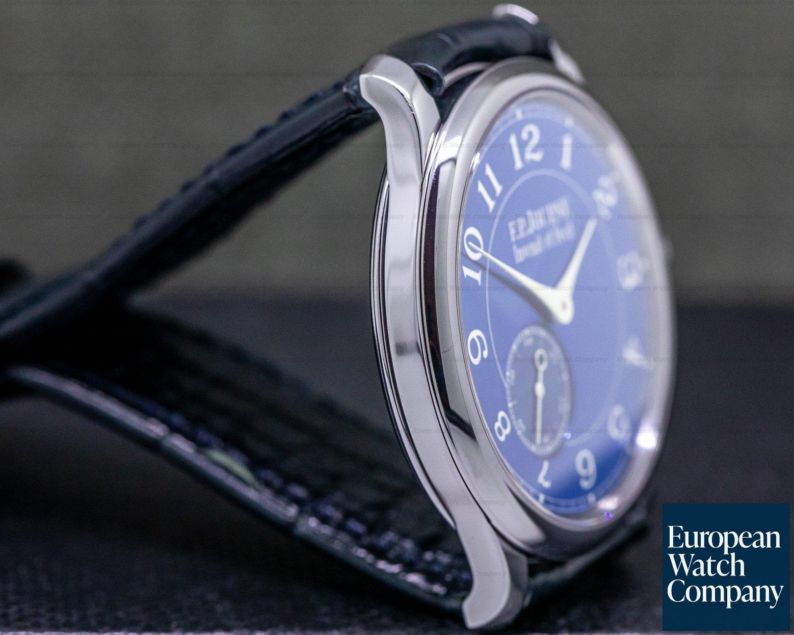 F. P. Journe Chronometre Bleu Chronometre Bleu Tantalum Blue Dial FIRST 100 MADE