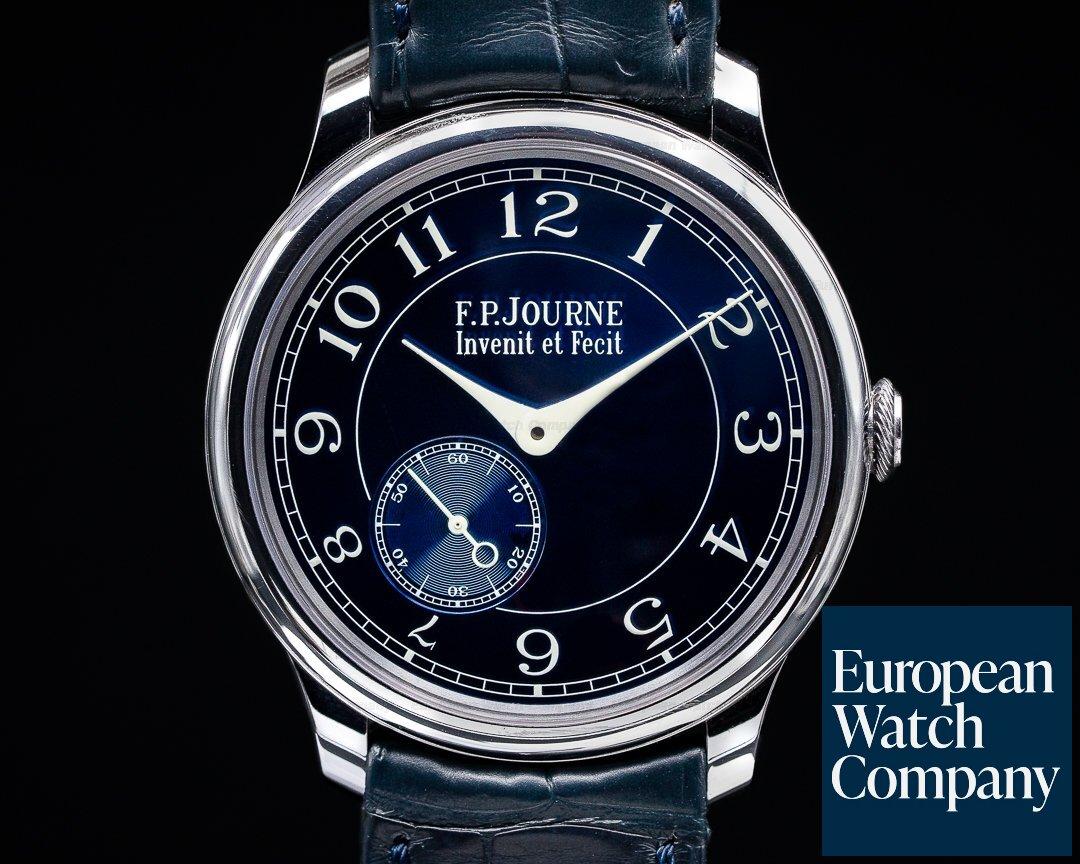 F. P. Journe Chronometre Blue 2020 Chronometre Bleu Tantalum Blue Dial UNWORN