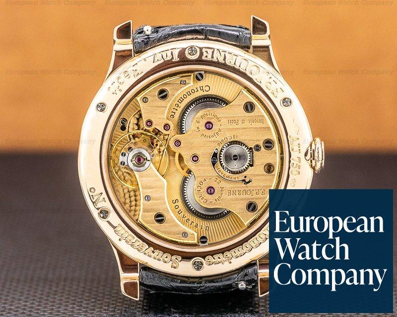 F. P. Journe Chronometre Souverain Bo Chronometre Souverain 18k Rose Gold Black Dial BOUTIQUE
