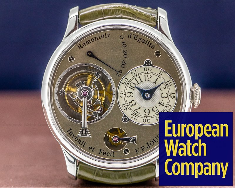 F. P. Journe Journe Tourbillon Brass Tourbillon Souverain Platinum BRASS MOVEMENT 38MM COMPLETE