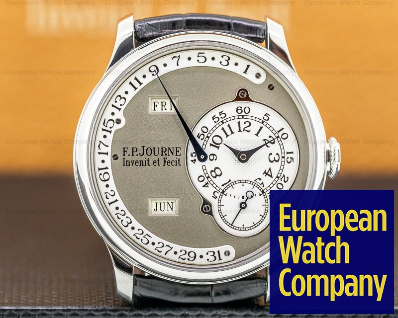 F. P. Journe Octa Calendrier 38MM Octa Calendrier Platinum / White Gold Dial 38MM