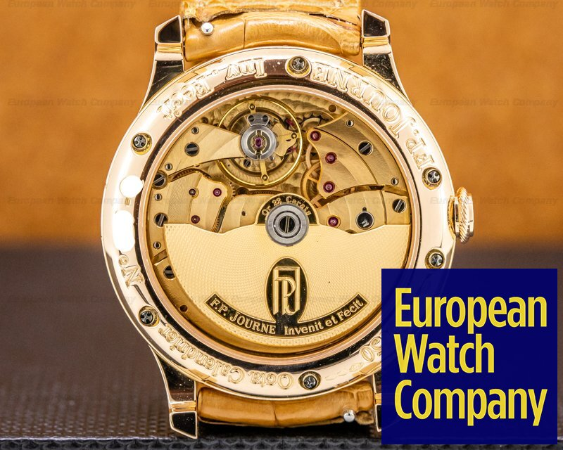 F. P. Journe Octa Calendrier Octa Calendrier 18K Rose Gold / Gold Dial 40MM
