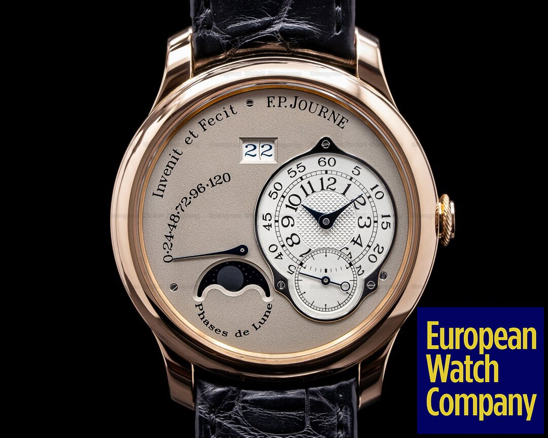 F. P. Journe Octa Lune  Octa Lune Automatic Rose Gold / Grey Dial 40MM