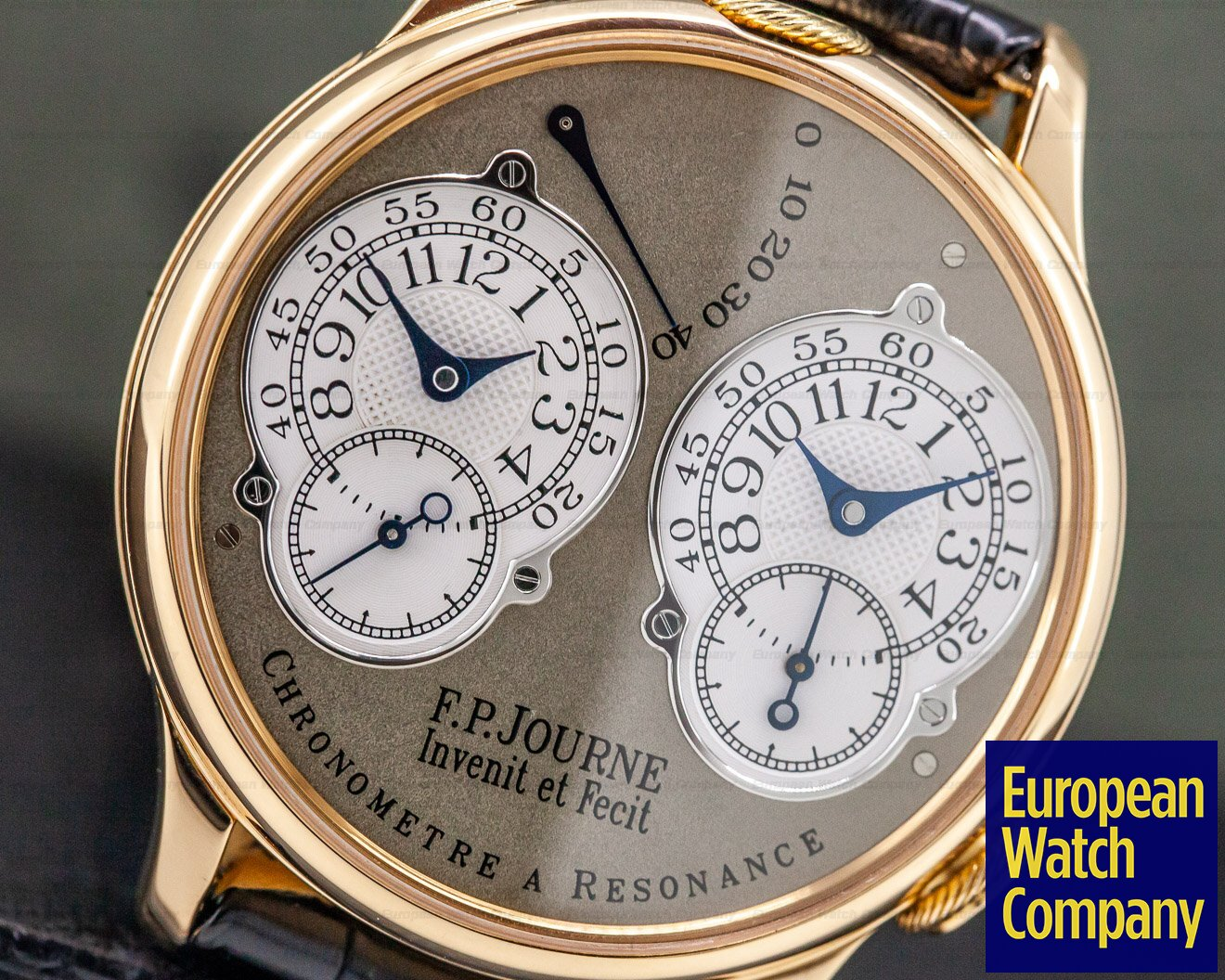F. P. Journe Resonance Brass Chronometre Resonance 18k Rose Gold 38mm BRASS MOVEMENT