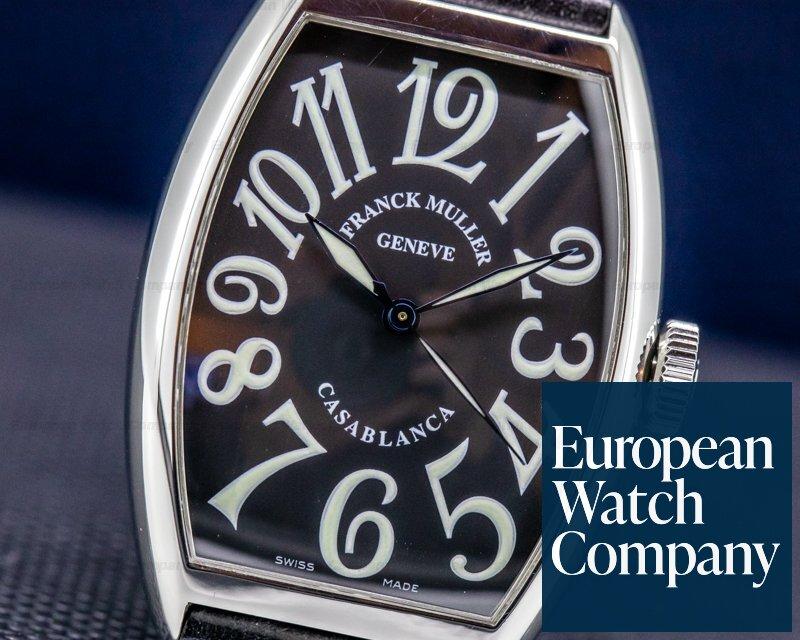Franck Muller 5850 Casablanca Black Dial SS