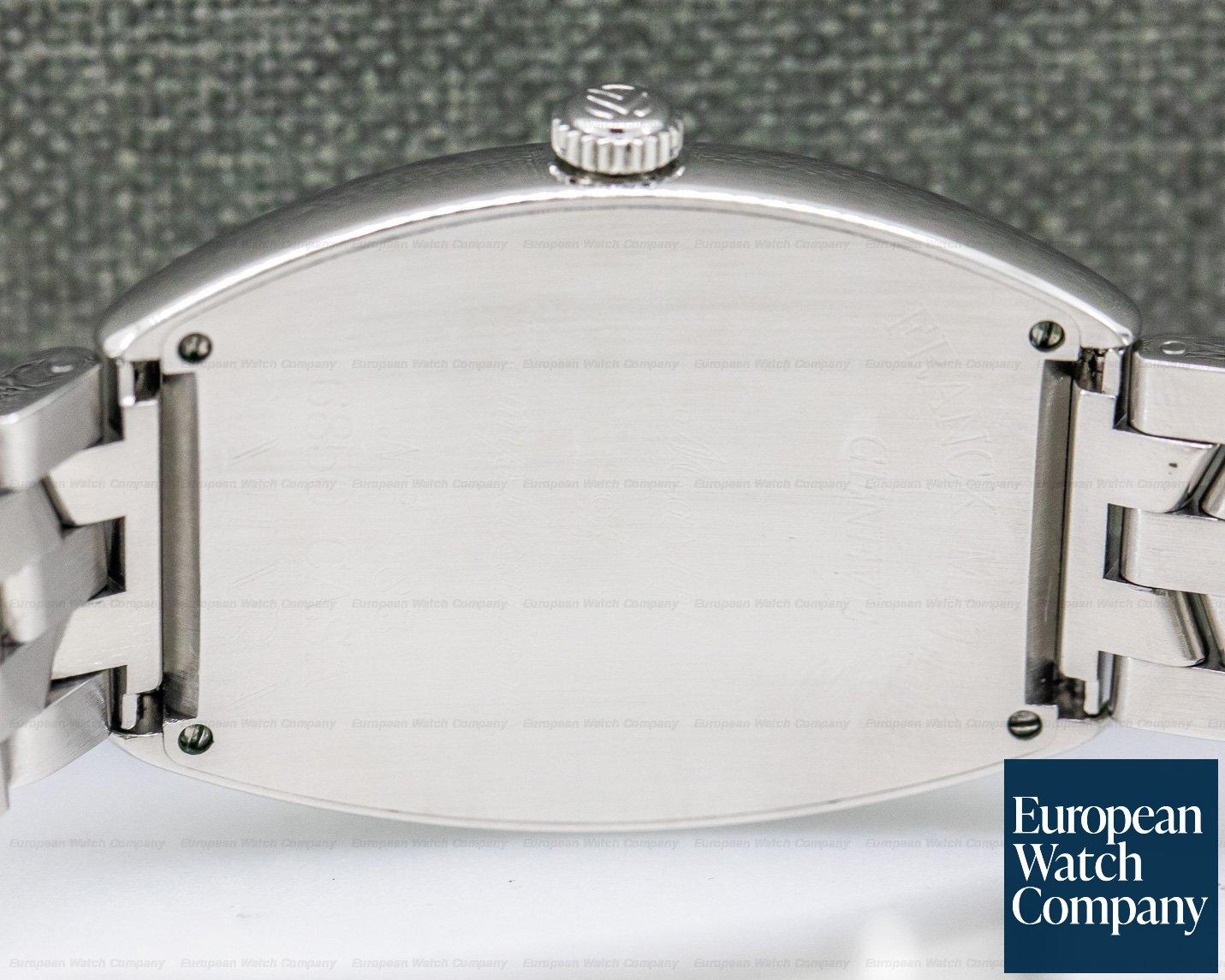 "Franck Muller 6850 SC Cintree Curvex ""SAHARA"" SS Automatic Silver Dial"