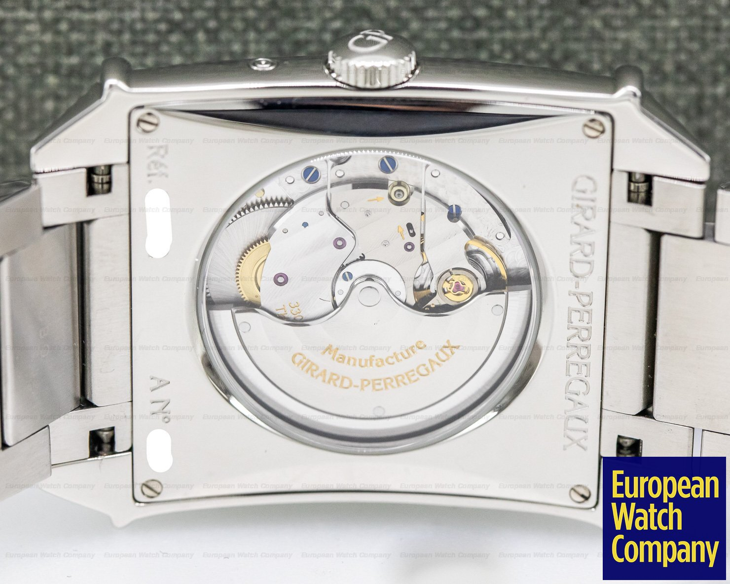 Girard Perregaux 25882-11-421-11a Vintage 1945 XXL Large Date Moonphases SS