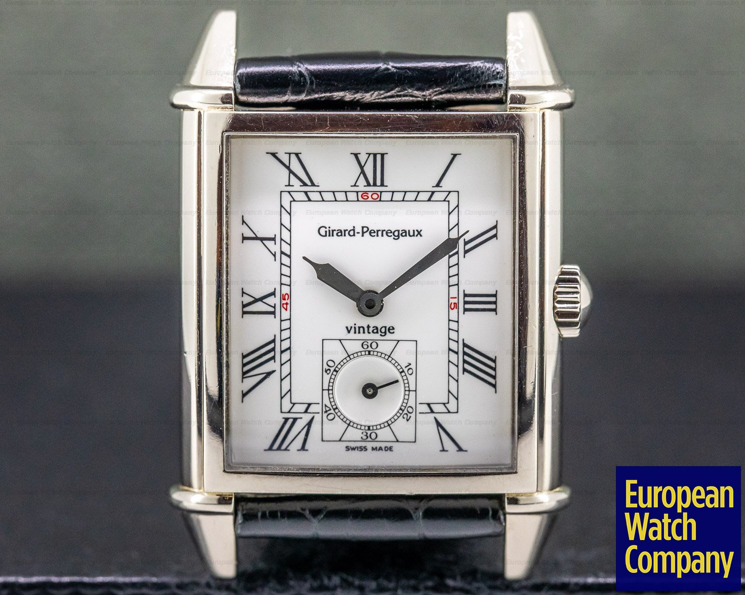 Girard Perregaux 25950.053.773 Vintage 1945 18K WG Manual Wind