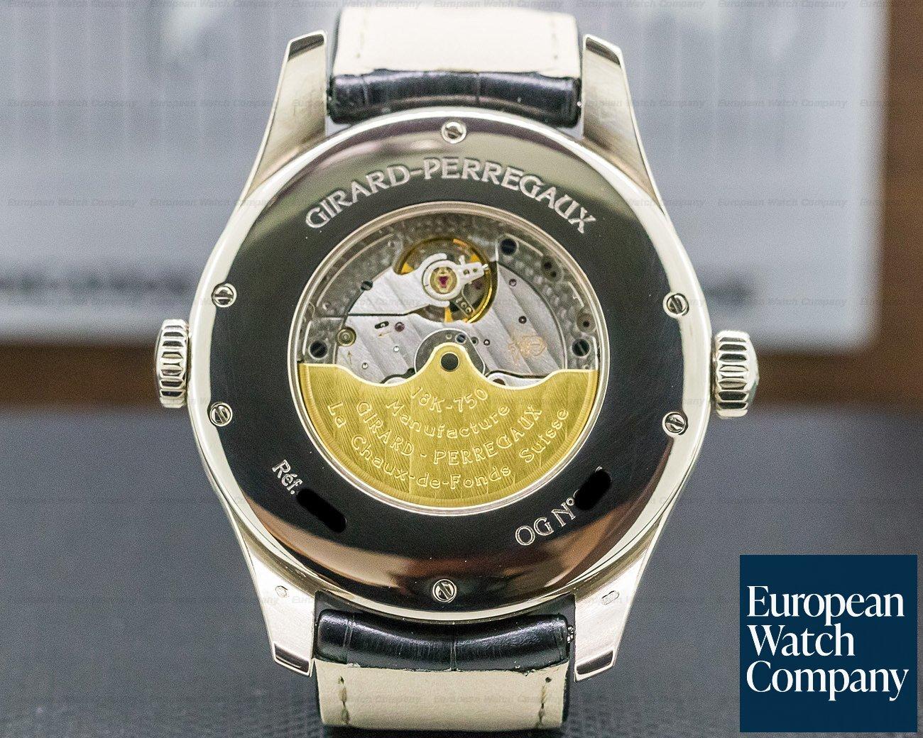 Girard Perregaux 49850-53-151-BA6A World Time WW.TC Power Reserve Silver Dial / White Gold