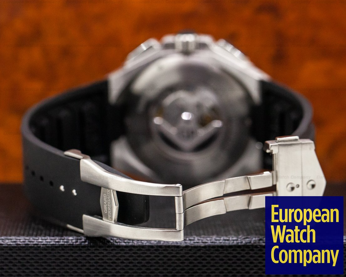 Girard Perregaux 49970-11-231-HD6A Chrono Hawk SS Chronograph / Rubber
