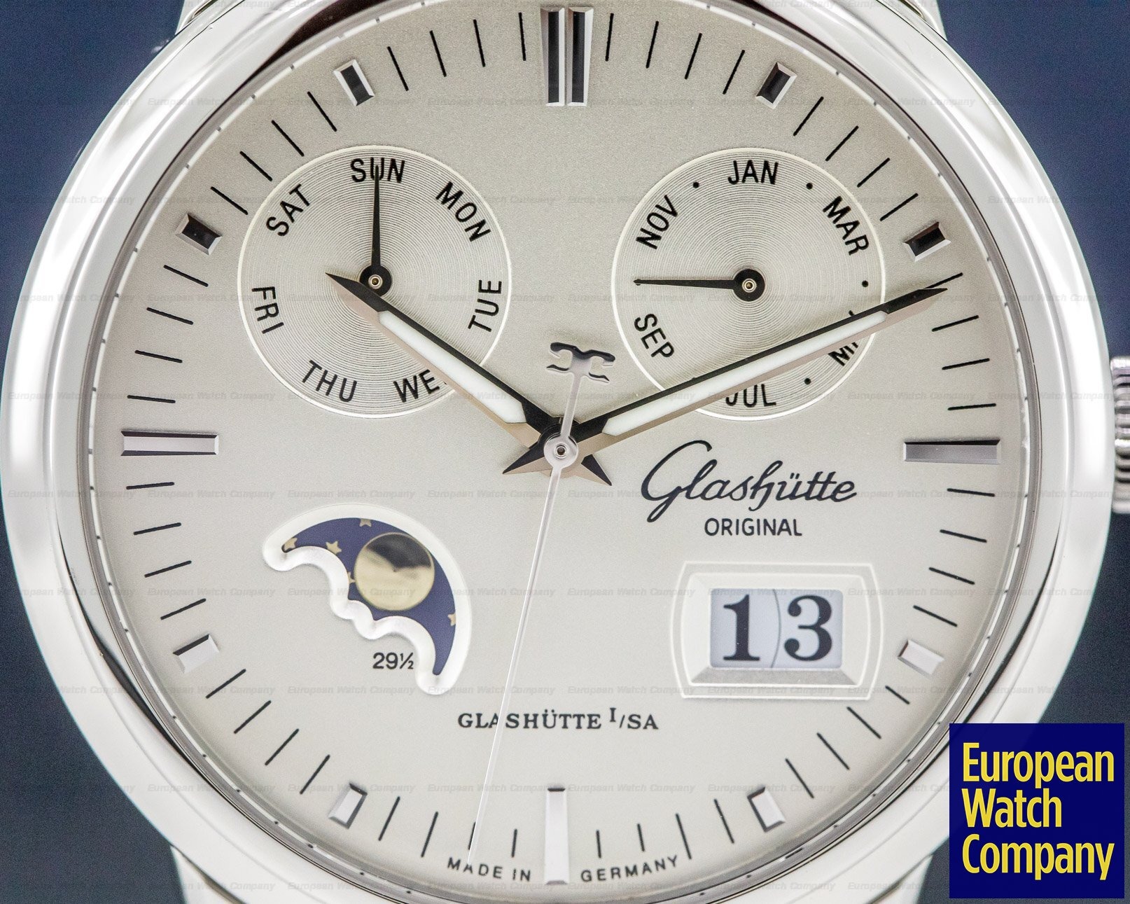 Glashutte Original 100-06-13-02-04 Senator Calendar Moon SS