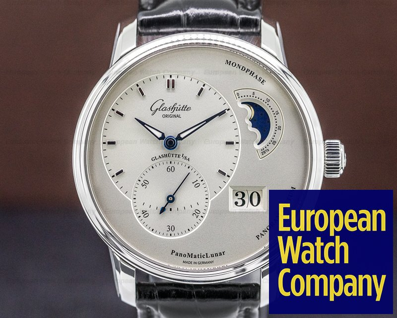 Glashutte Original 90-02-42-32-05 PanoMatic Lunar SS / Alligator