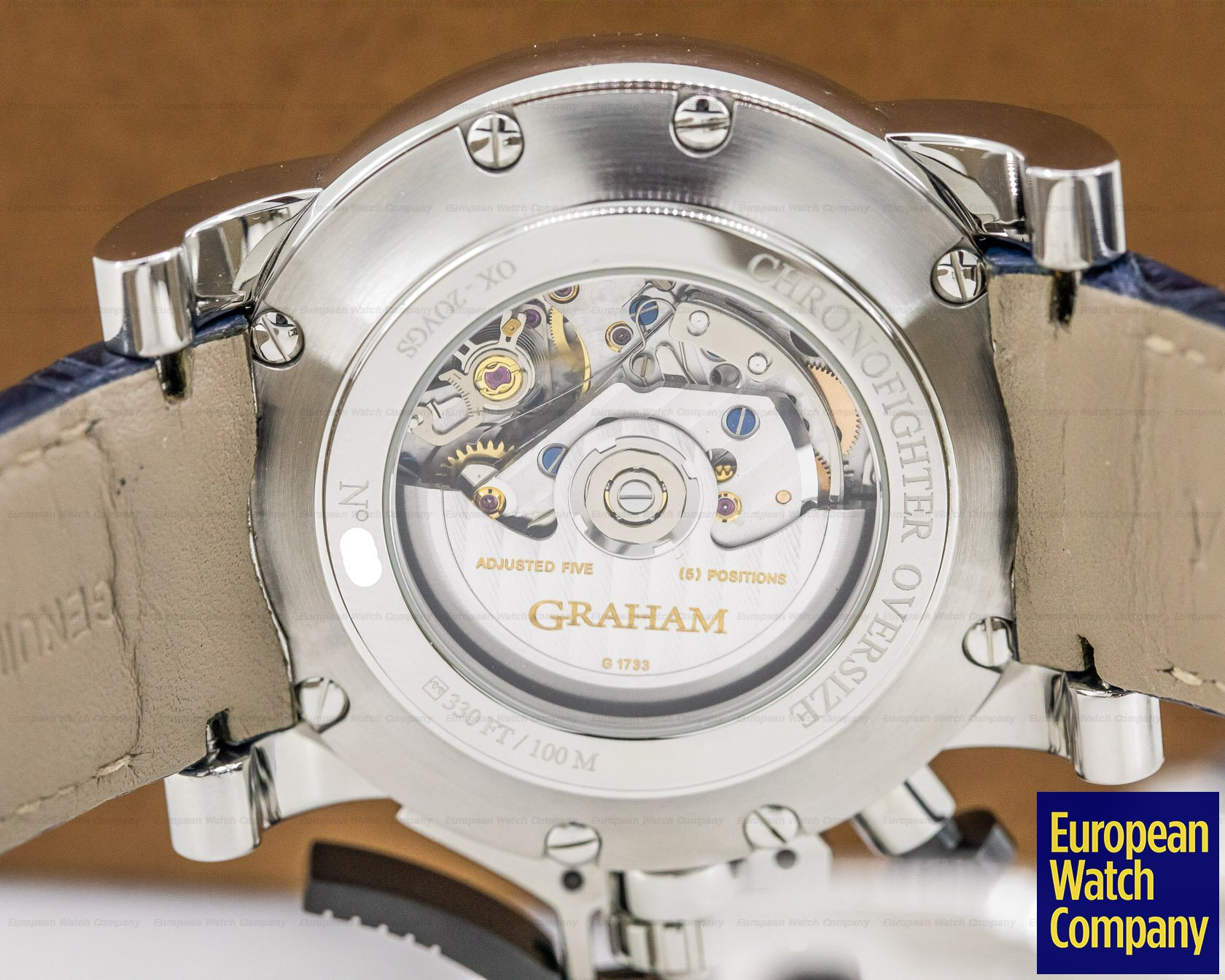 Graham 2OVGS.U06A Graham GMT Oversize Chronofighter Big Date Blue