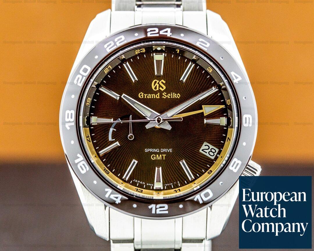 Grand Seiko Spring Drive GMT Eagle USA Limited Edition Ref. SBGE263