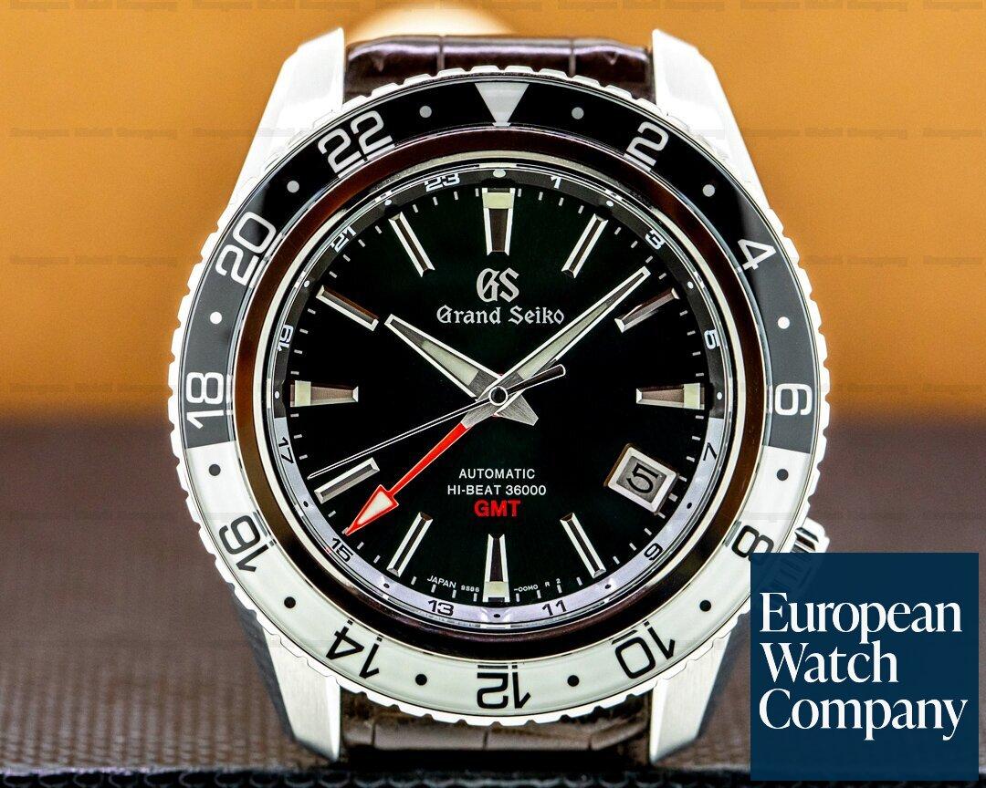 Grand Seiko SBGJ239 Grand Seiko Hi-Beat 36000 GMT Triple Time Zone