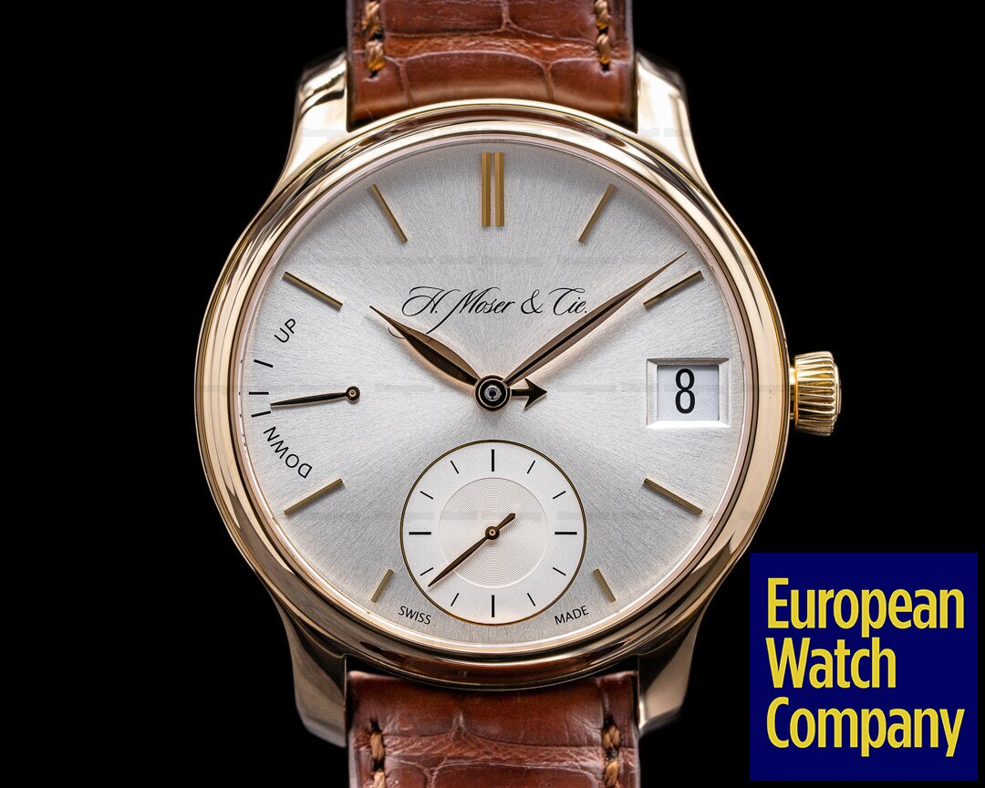 H. Moser & Cie Endeavour Perpetual Calendar 1 18k Yellow Gold Ref. 341.501.004