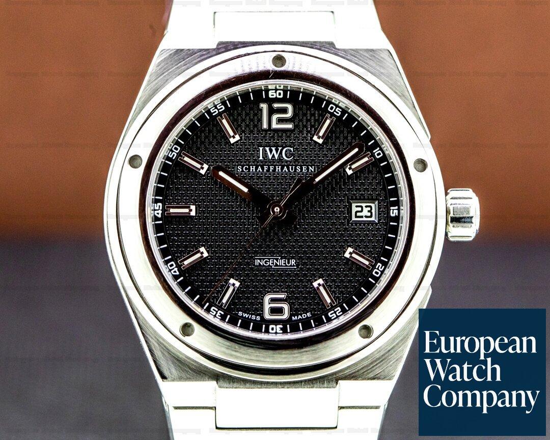 IWC 3227-01 Ingenieur SS/SS Black Dial