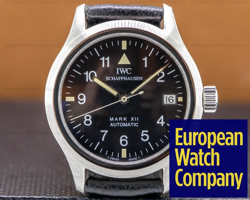 IWC 3241-001 Mark XII 3241 SS / Strap FULL SET