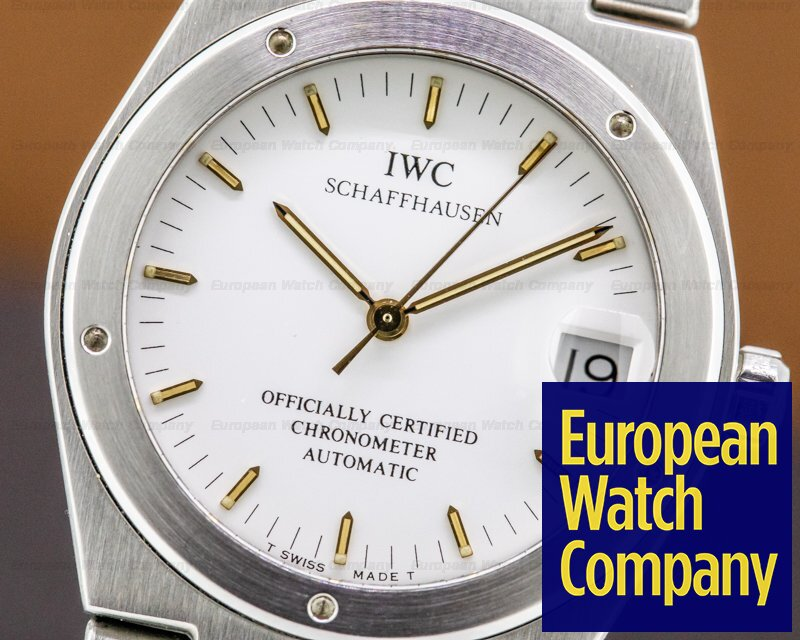 IWC 3521-001 Ingenieur Automatic White Dial SS / SS