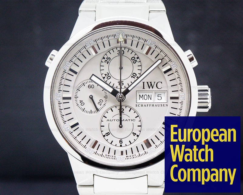 IWC 371508 GST Split Second Chronograph Silver Dial