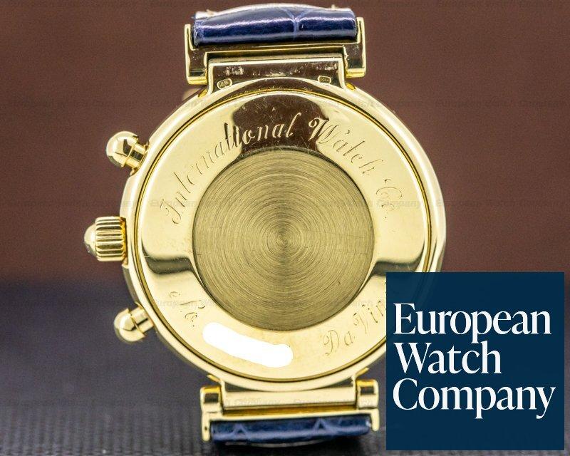 IWC 3750-03 Da Vinci Perpetual Calendar Chronograph 18K Yellow Gold