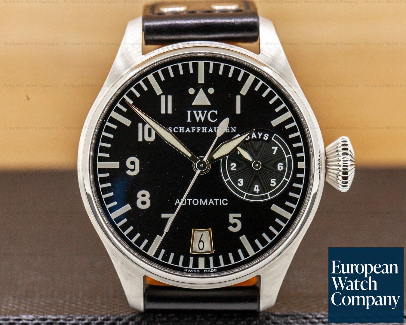 IWC 5002-01 Big Pilot 5002 SS 7 Day