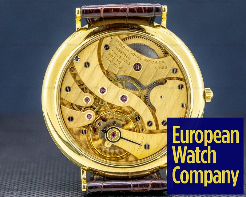 IWC 5251 Portofino Moonphase 5251 18k Yellow Gold 46MM WOW