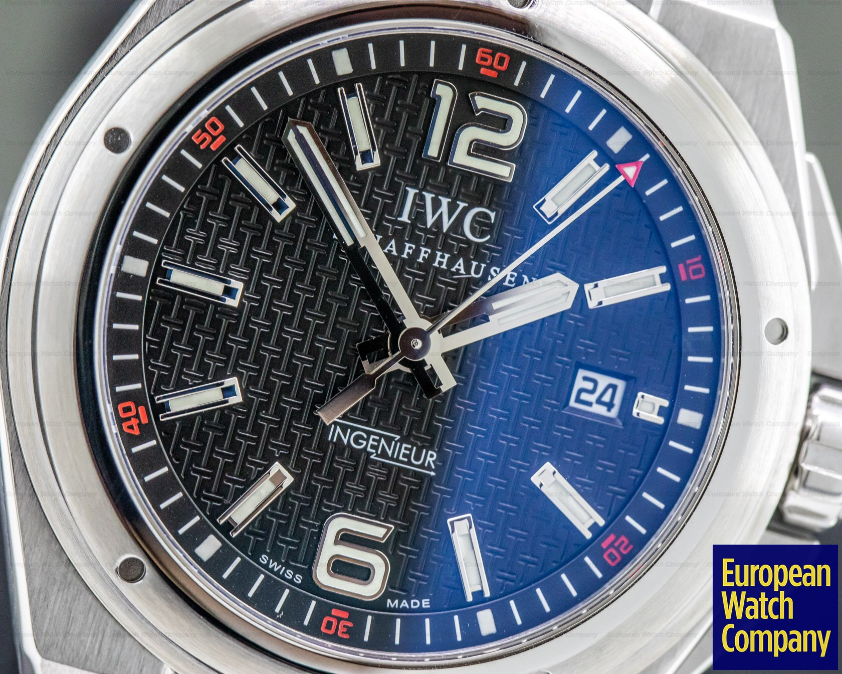 IWC IW323601 Ingenieur Mission Earth Automatic SS / Rubber