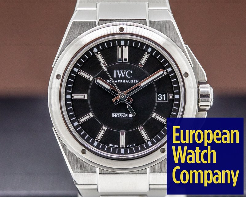 IWC IW323902 Ingenieur Black Dial SS / SS