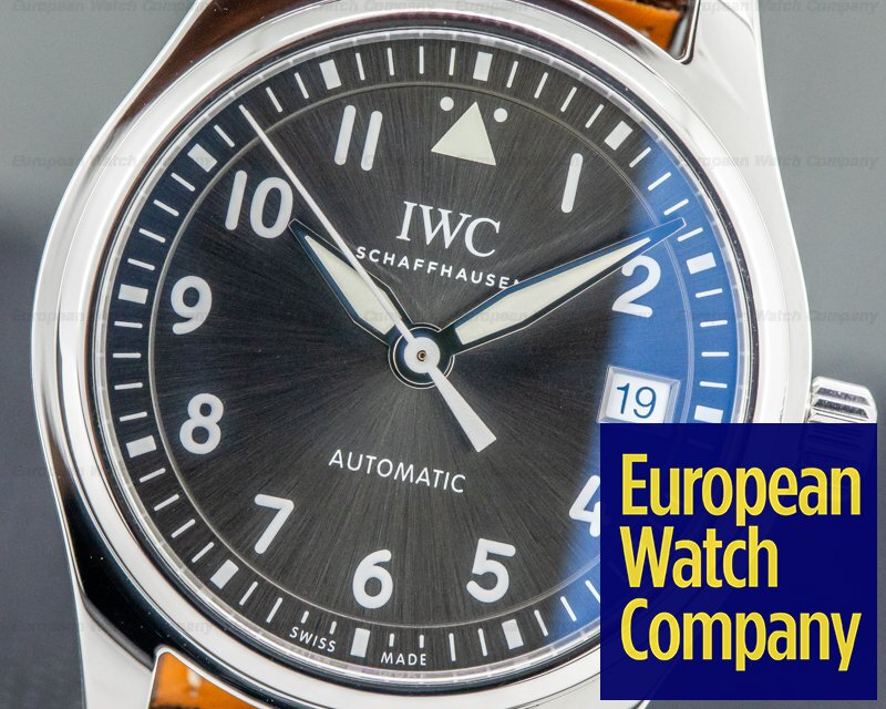 IWC IW324001 Pilot's Watch 36mm Slate Dial SS