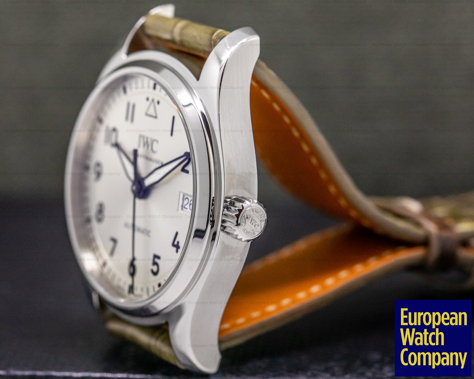 IWC IW324007 Pilot 36mm White Dial SS