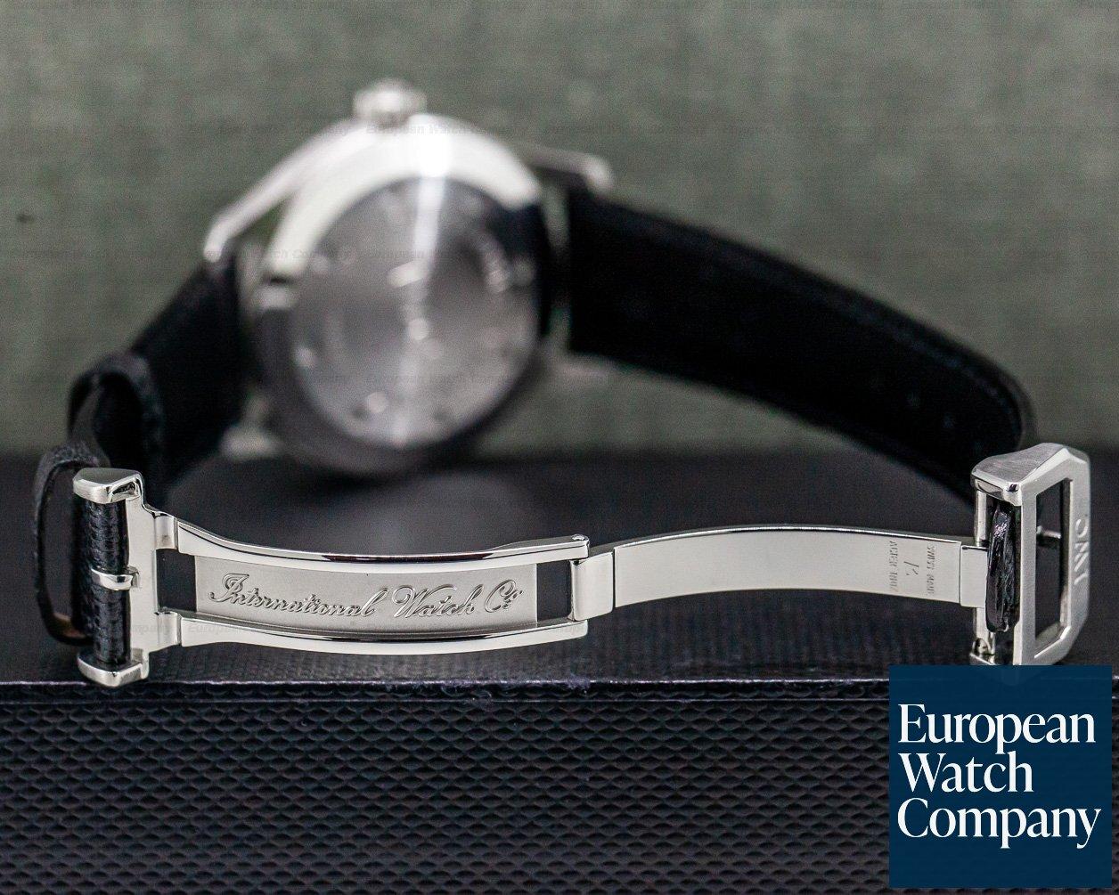 IWC IW325301 Mark XV SS / Strap Black Dial