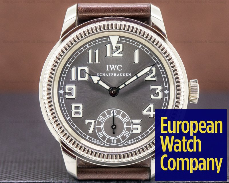 IWC IW325404 Vintage Collection Pilot Watch 18K White Gold