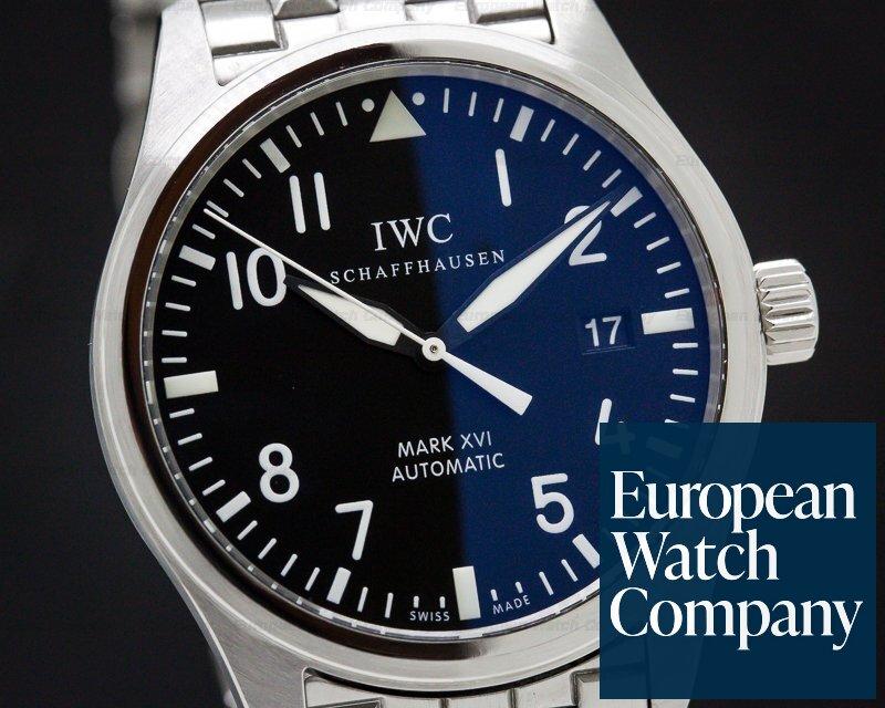 IWC IW325504 Mark XVI Black Dial SS / SS