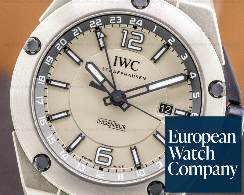 IWC IW326403 Ingenieur Dual Time Titanium / Rubber