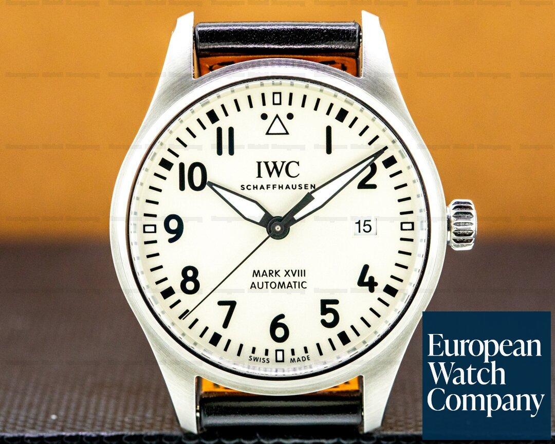 IWC Pilots Watch Mark XVIII Silver Dial UNWORN Ref. IW327012
