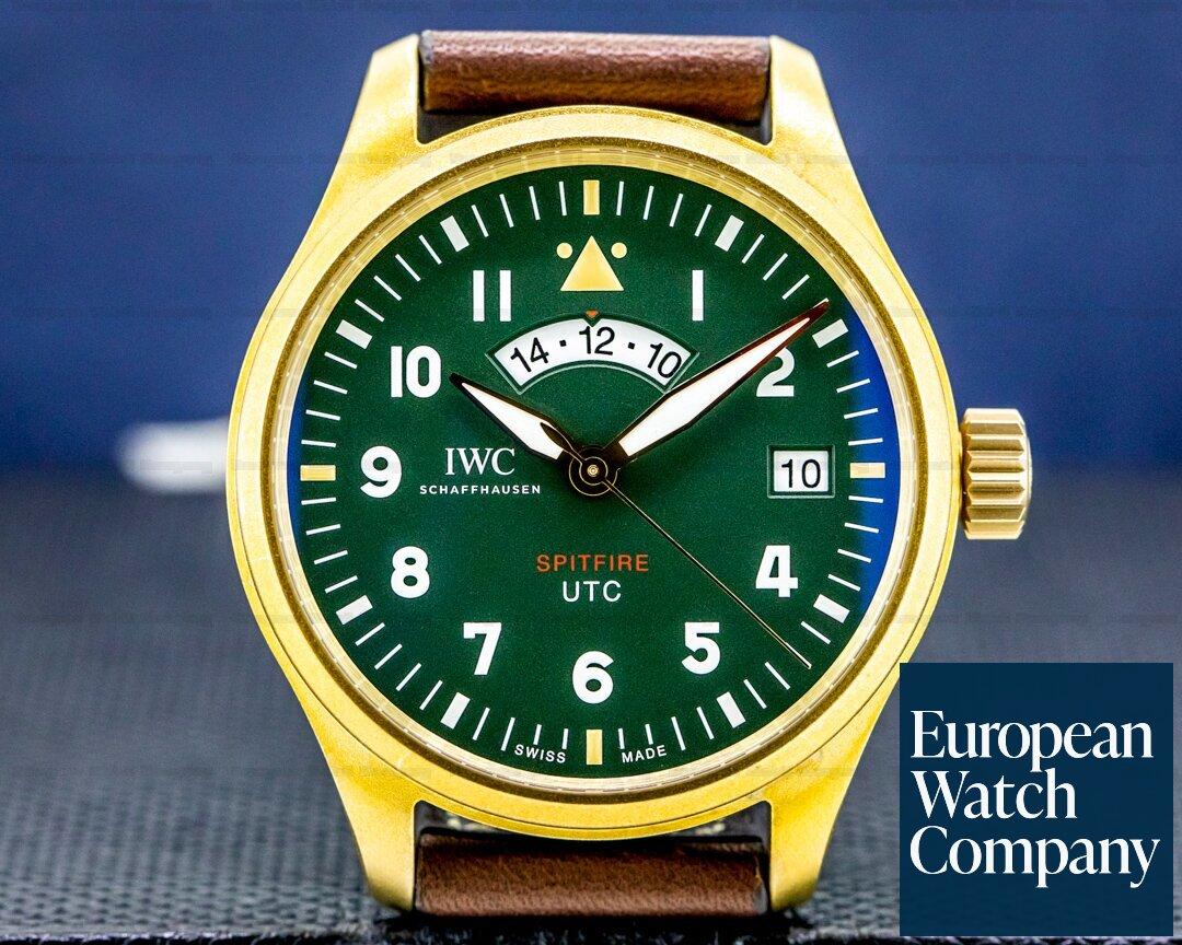 IWC IW327101 Pilot's Watch UTC Spitfire