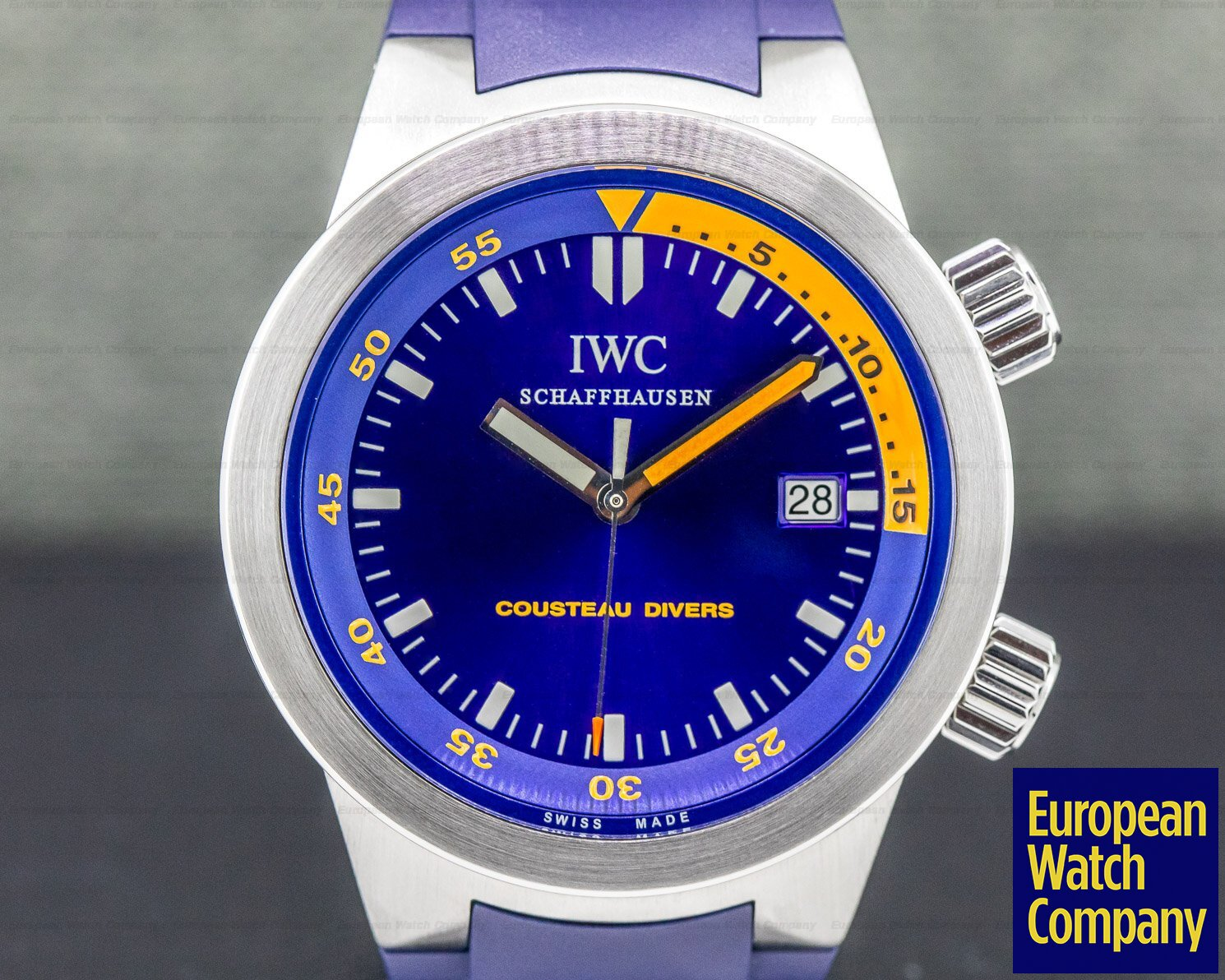 IWC IW354806 Aquatimer Automatic COUSTEAU DIVERS SS FULL SET