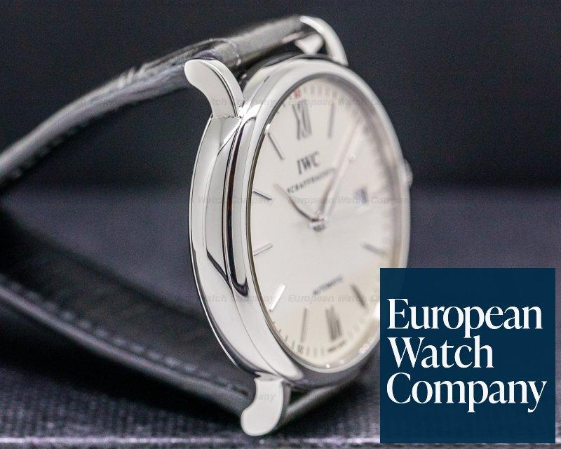 IWC IW356501 Portofino Automatic SS Silver Dial