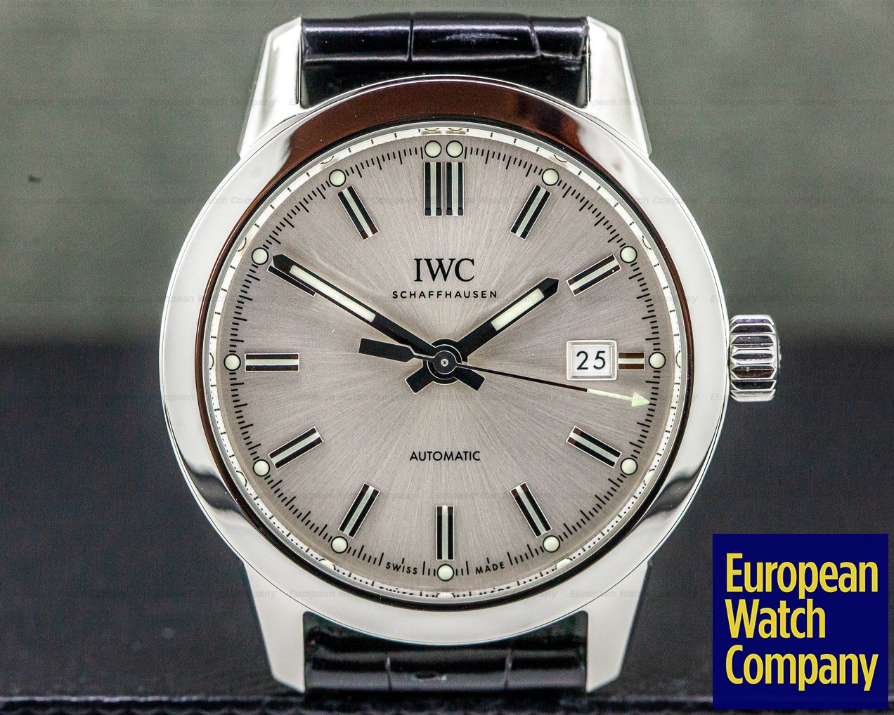 IWC IW357001 Ingenieur Automatic SS Silver Dial