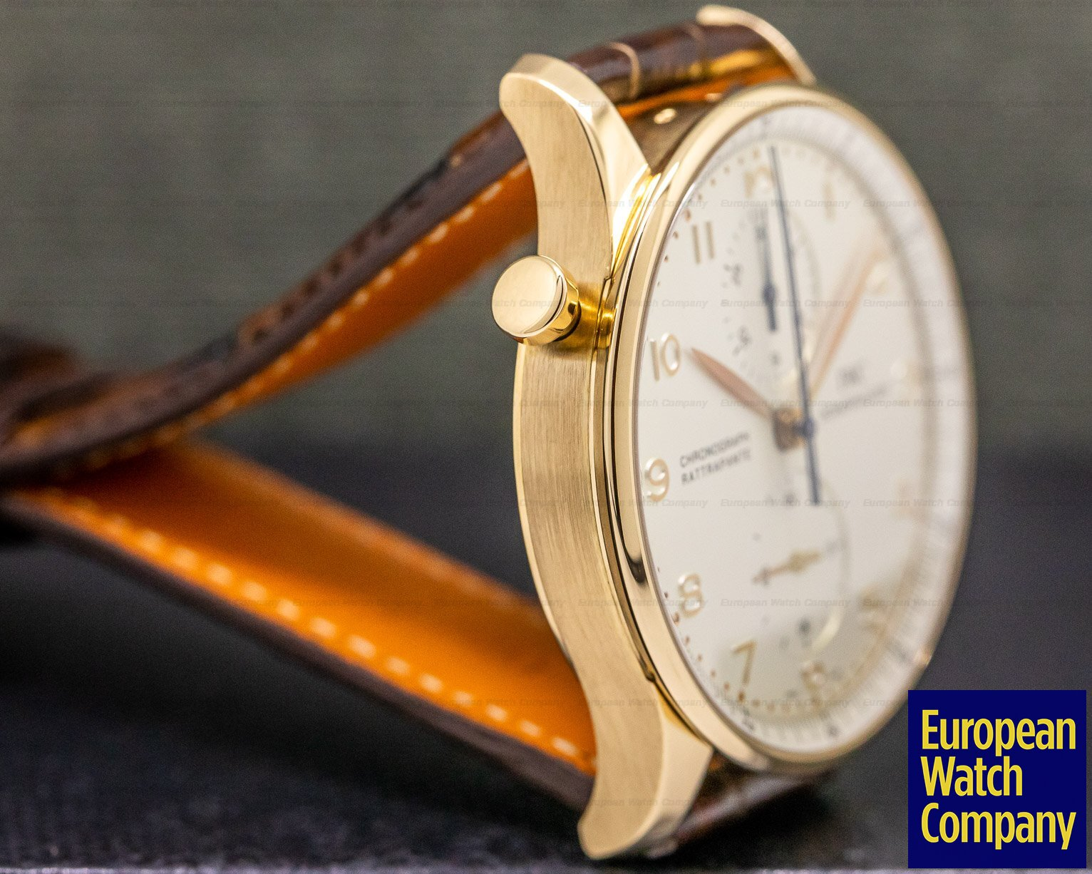 IWC IW371204 Portuguese Chronograph Split Second 18K Rose Gold