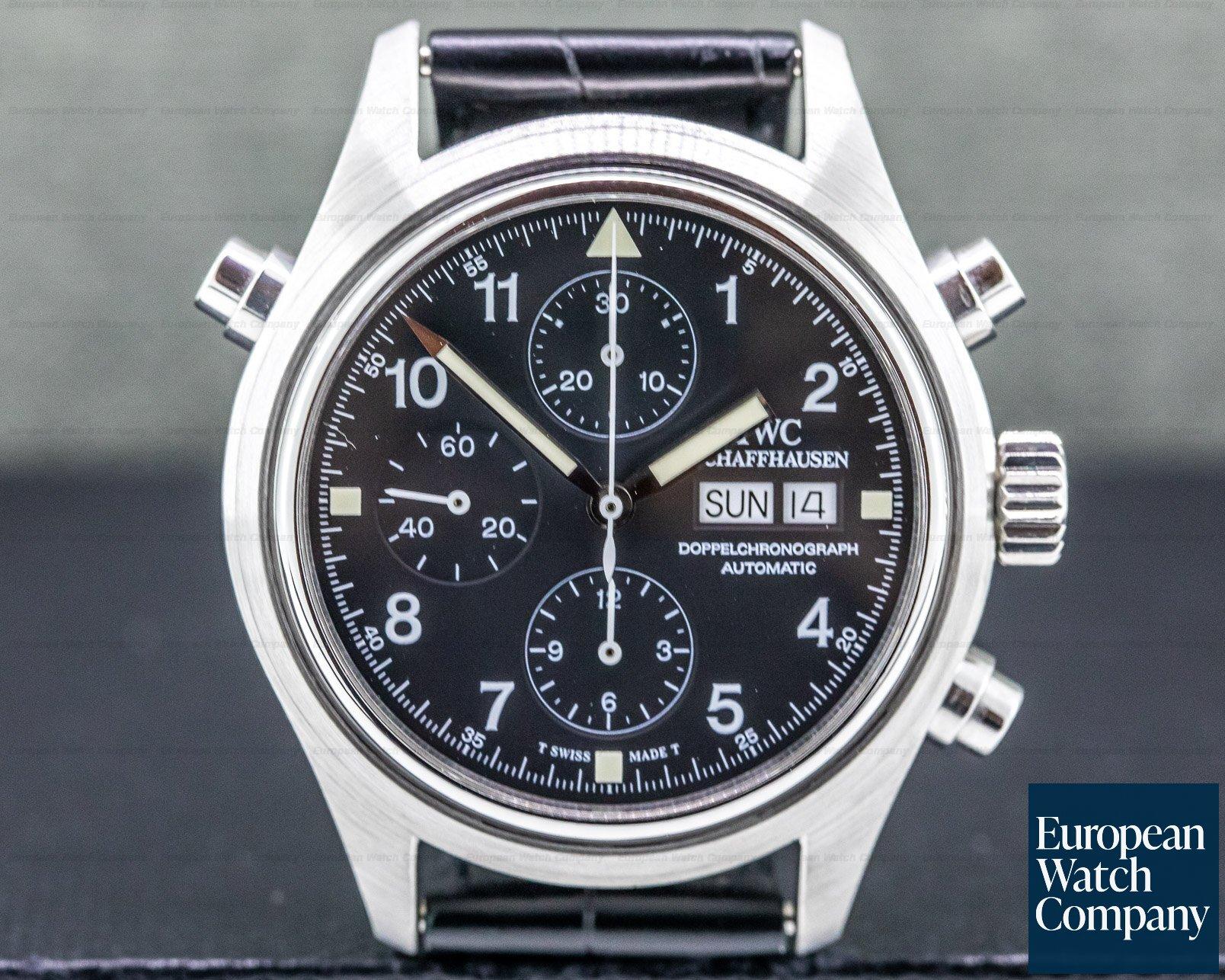IWC IW371301 Doppelchronograph SS Pilot Chronograph