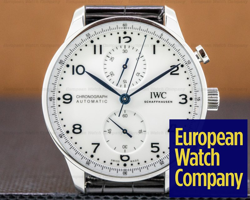 IWC IW371602 Portuguese Chronograph SS Lacquered Dial 150th Anni Limited