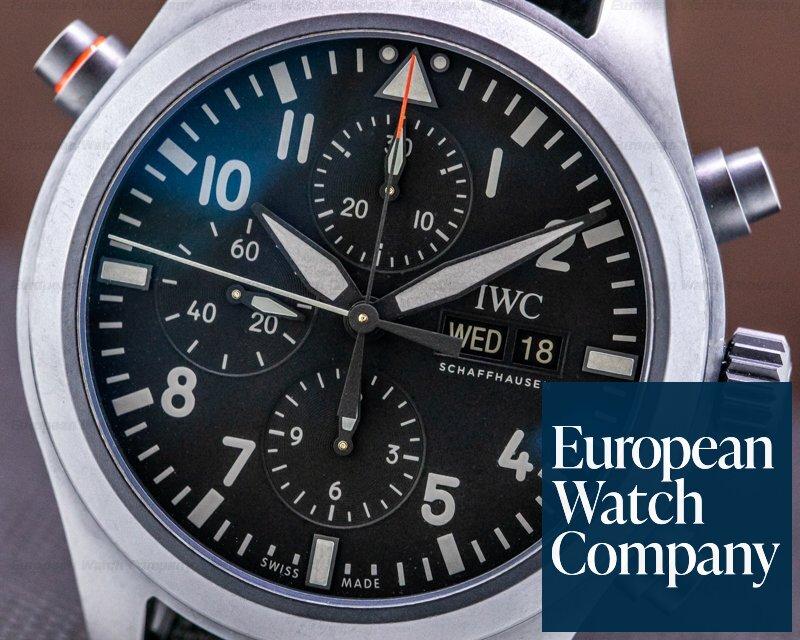 IWC IW371815 Pilot Double Chronograph Top Gun Ceratanium