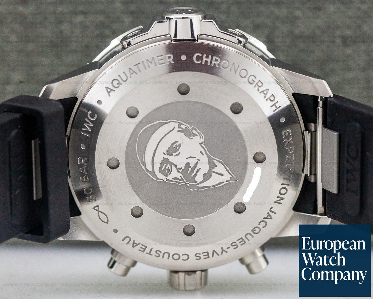 IWC IW376805 Aquatimer Chronograph SS / Rubber Blue Dial